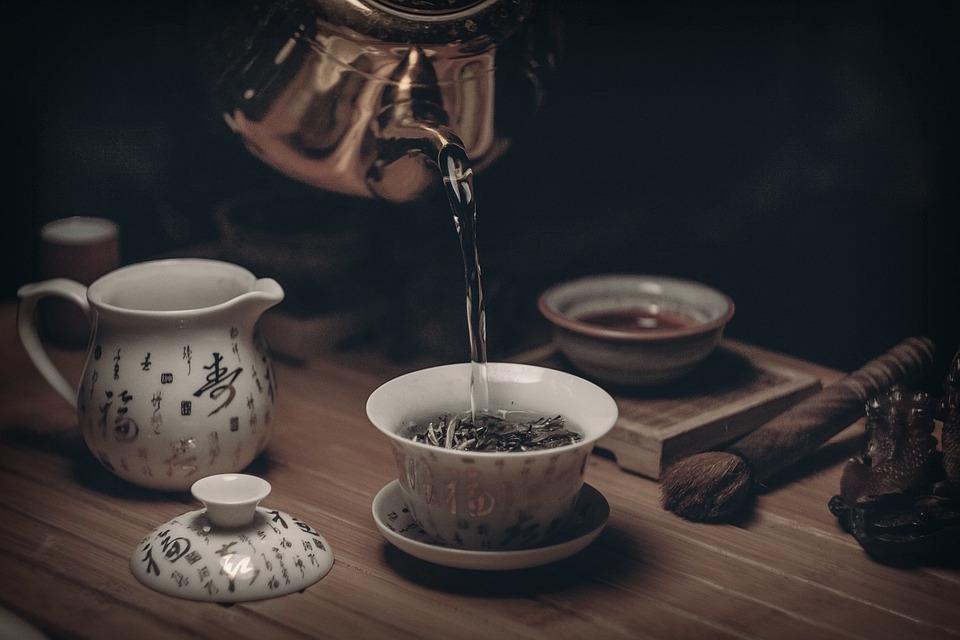 Quando il tè è un'opera d'arte