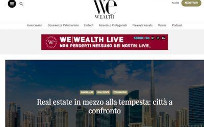 Aprile 2020 – Intervista per We Wealth