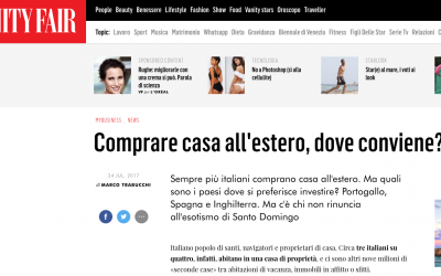 24 Luglio 2017 Gianluca Santacatterina su Vanity Fair